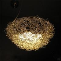 铝线鸟巢灯 鸟窝吊灯餐厅吊灯 铝丝鸟蛋吊灯