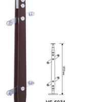 供应不锈钢片夹木片立柱
