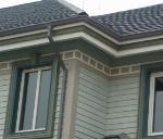 别墅洋房PVC矩形雨水管方形落水管厂家