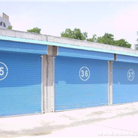供应深圳普通商铺彩钢板卷闸门