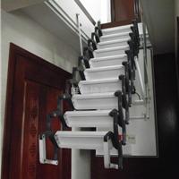 阁楼隐形楼梯价格 西安电动伸缩楼梯价格