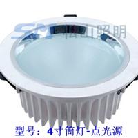 供应热销LED压铸筒灯外壳配件