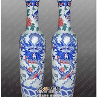 供应龙年较新雕龙大花瓶商务礼品