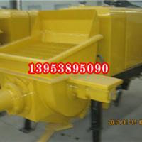 河南叶县煤矸石回填用矿用防爆混凝土输送泵