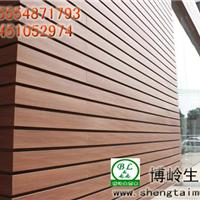 生态木墙板 博岭生态木墙面装饰板