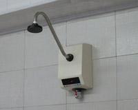 一体化感应式双温暗装淋浴器