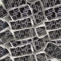 供应高隔玻璃隔断铝型材,百叶及配件价格从优