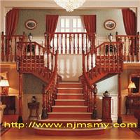 南京目赏原木楼梯
