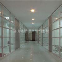 供应 铝合金隔断铝型材 高隔型材