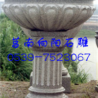 焦作石雕花钵厂家