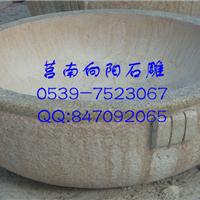 郑州石雕花钵价格|黄锈石花盆|黄金麻花钵