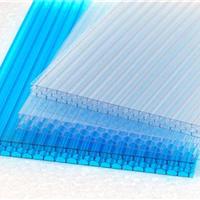 济南7mm透明阳光板2mm湖蓝PC耐力板PC温室大棚