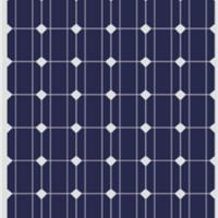 生产中东地区300W单晶硅太阳能电池板