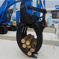 供应挖掘夹木器、机械式夹木器、旋转抓木器制做