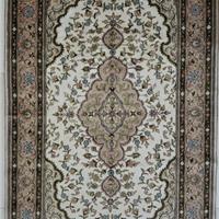 供应波斯地毯,100%桑蚕丝手工编织地毯 016