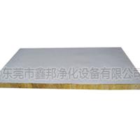 厂家直销保温防火岩棉夹芯彩钢板