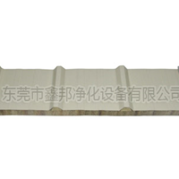厂家直销保温防火岩棉夹芯瓦楞彩钢板