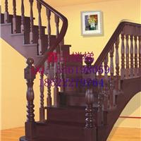 供应红橡木质楼梯|橡木阁楼楼梯|高档红橡别墅楼梯