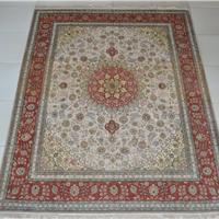 供应地毯,波斯地毯,100%桑蚕丝手工编织地毯 003