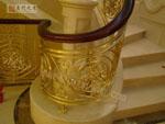 供应铜栏杆/上海别墅铜栏杆/上海铜栏杆加工/名门之秀铜栏杆