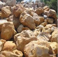 供应景观石、广东英德黄蜡石黄蜡石产地优质黄蜡石