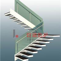 供应玻璃锌钢楼梯