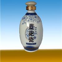 长期销售青花陶瓷酒瓶