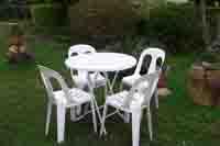 供应塑料圆桌,塑料椅子