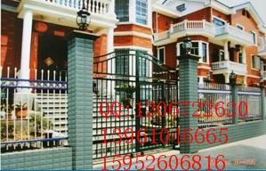 中晶护栏厂家特价直销围墙栏杆、锌钢护栏常年免维护/质优价低