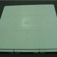 供应轻型平铺塑料网络地板 办公室布线地板