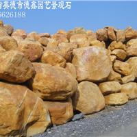 广东黄蜡石、黄水石、英石、平台石、泰山石、文化石、