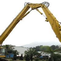 供应挖掘机三段臂、挖掘机拆楼臂、长臂拆迁机