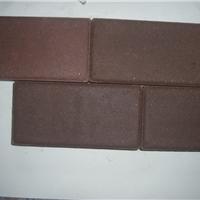 厂家直销咖啡色烧结砖棕色陶土砖园林景观砖