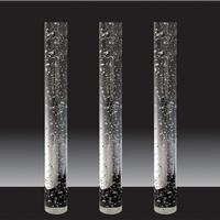 供应精磨水晶柱 水晶圆柱 玻璃柱 隔断 玄关