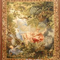供应高档皇宫挂毯 各种纯手工羊毛挂毯 大厅 走廊 卧室