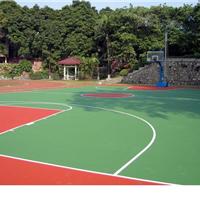 供应合肥学校篮球场硅PU地坪工程
