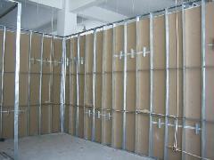 供应上海轻钢龙骨隔墙,石膏板隔墙及价格展示