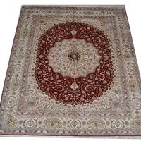 供应波斯地毯,真丝挂毯,300道,100%桑蚕丝 014