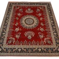 供应波斯地毯,东方丝毯,100%桑蚕丝手工编织地毯 015