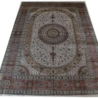 供应真丝地毯,手工真丝地毯,波斯地毯,挂毯 001