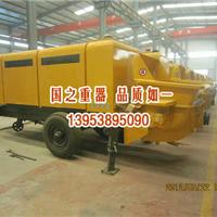 河北魏县砂浆泵买卖|细石泵转让/打地面的细石混凝土泵设备|
