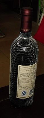 供应红酒瓶装饰网