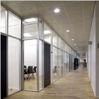 广东工厂专业专注办公室玻璃隔断墙,83/84款高隔间铝型材