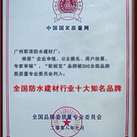 中国国家质量网证书