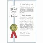 5A级美国专利证书