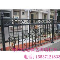 郑州铁艺围墙栏杆制作,厂家直销