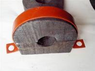 定做异形管道保冷木码  防腐木托码