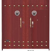 庭院大门非标门复合门防盗门钢木门铁艺门