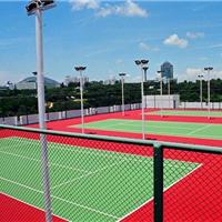 承接天津运动场所硅PU球场施工