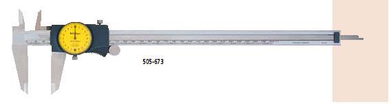 供应 三丰带表卡尺500-671 500-681